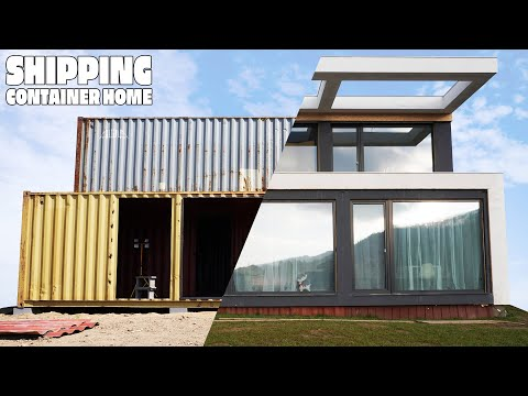 Quá trình làm nhà từ 5 container 40ft
