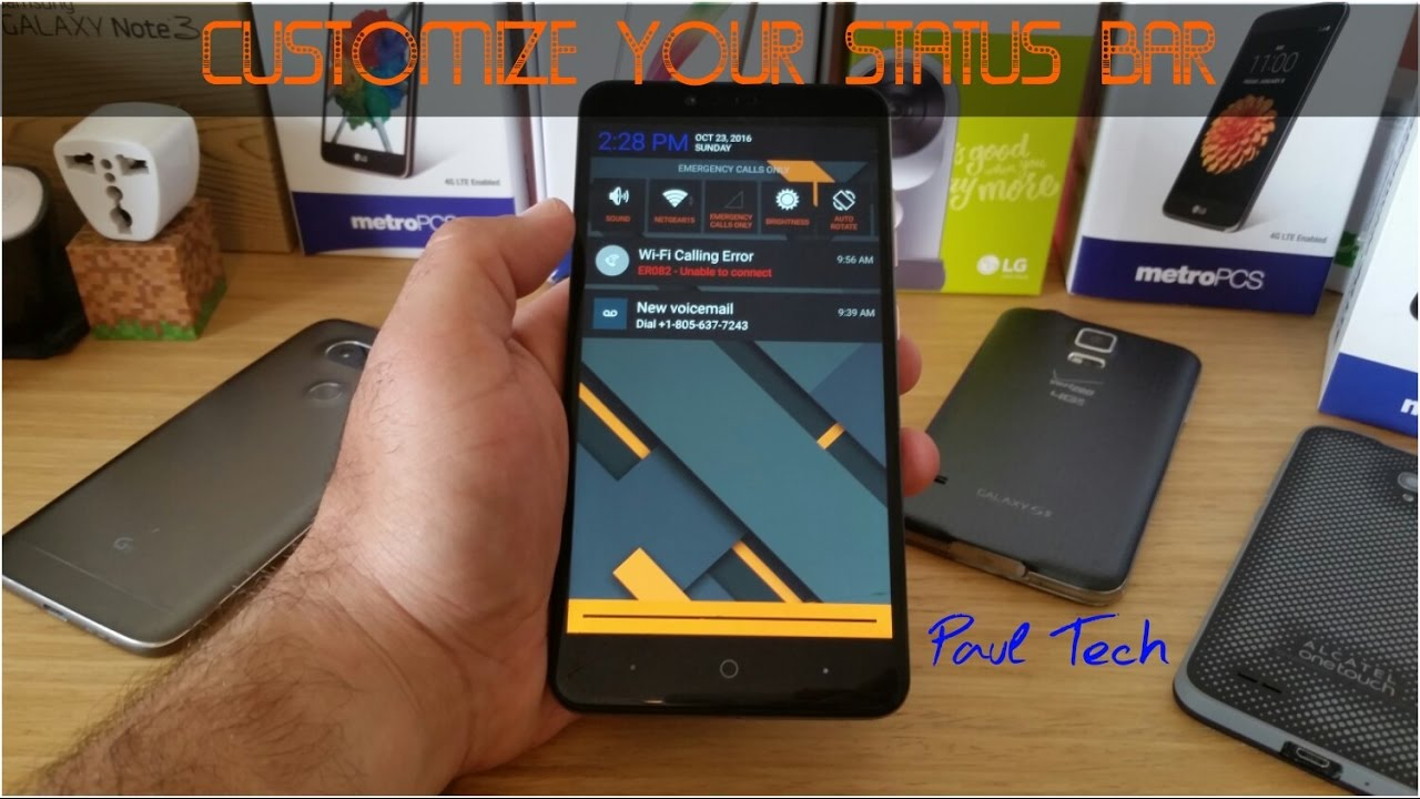 Customize your status bar for all Android devices
