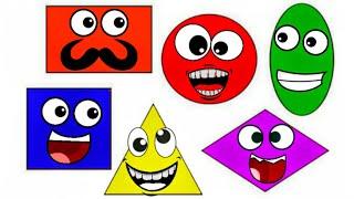 Учим цвета и формы. Обучающие видео для детей
