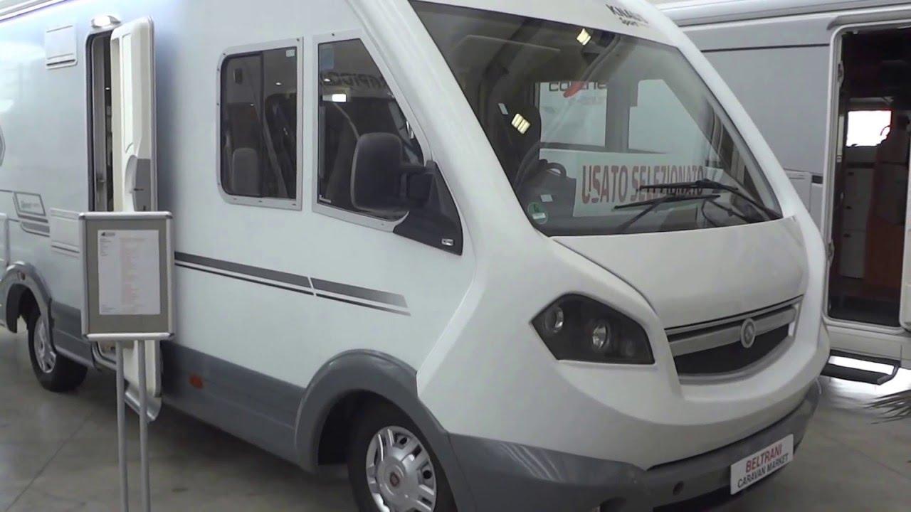 Camper Letto Matrimoniale Posteriore.Knaus Sport Liner 700 Ug Motorhome Con Letto Matrimoniale