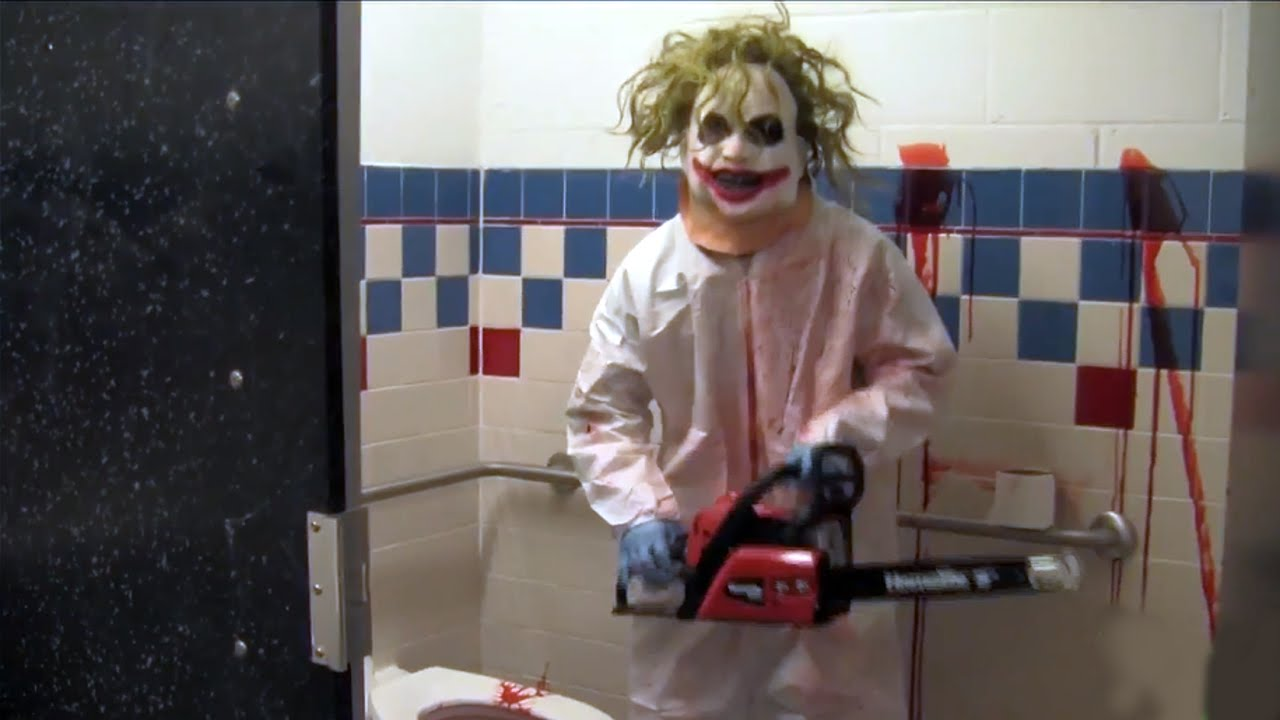 Chainsaw Scare Prank Youtube