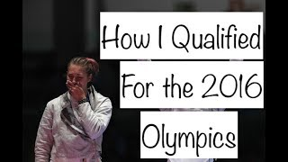 How I Qualified for the 2016 Olympics // Monica Aksamit