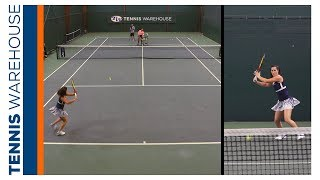 Jamie Loeb Special 3 Ball Tennis Drill