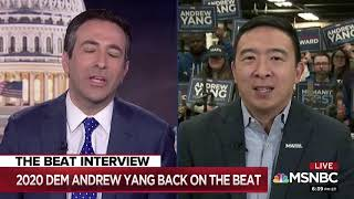 Andrew Yang on MSNBC's The Beat with Ari Melber (Full Interview)