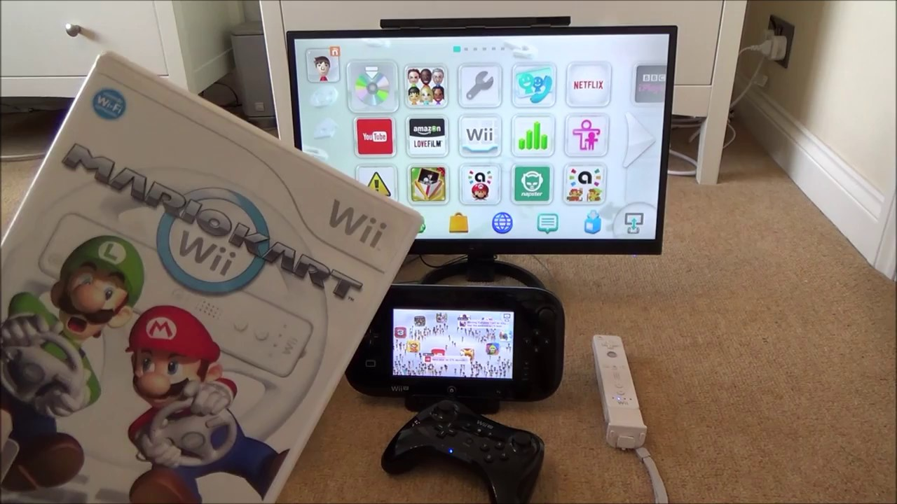 Nintendo Support: How to Play Wii Games on the Wii U