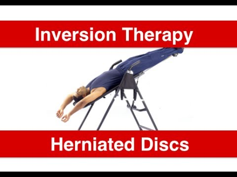 does inversion therapy work
