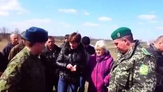Эксцессы На Российско   Украинской границе  Украина Россия 2014(, 2014-04-07T08:53:50.000Z)