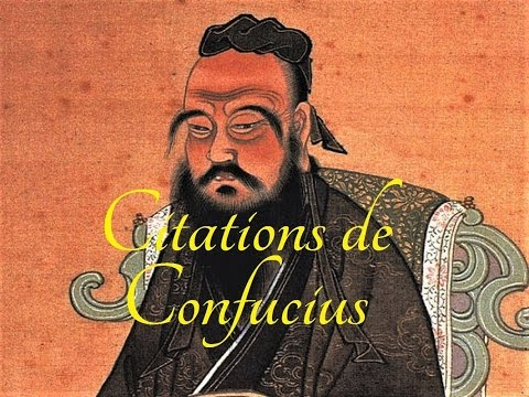 Belles citations inspirantes de Confucius