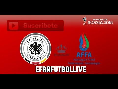 alemania vs azerbaijan - en vivo - link en la descipcion