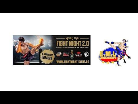 E.M.L. German Finals - Live aus Dresden 8.4.2017 Muay Thay Deutschland