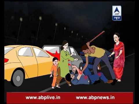 Delhi Ke Jallad: Man attacks dental technician with a rod in road rage incident