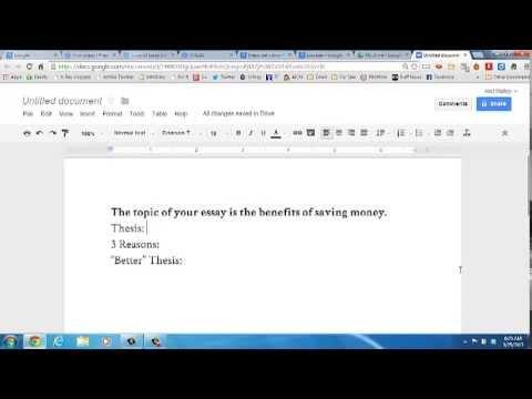 finding thesis statement quiz