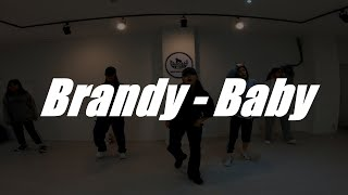 Brandy - Baby / Girl's Hiphop / 고릴라크루 댄스학원 천안점