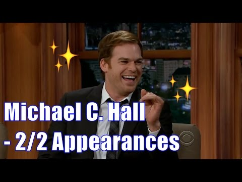 Michael C. Hall - Talks Serial Killers - 2/2 Appearances In Chron. Order [HD]