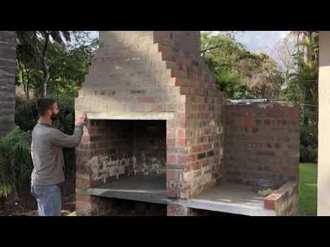 South African Braai... The build