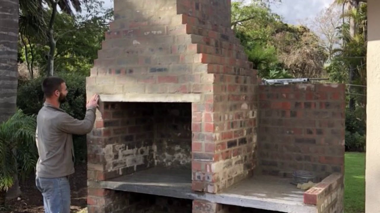 South African Braai The Build Youtube
