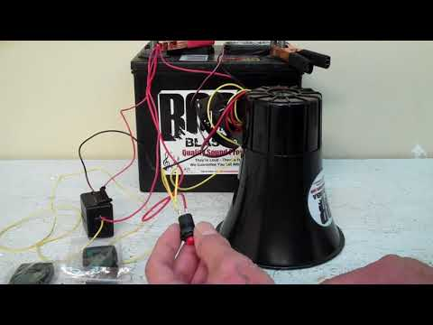 Big Bubba Car Horn with Remote Kit