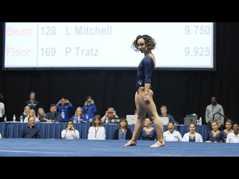 Delana's Dish - Perfect 10 routine from a college gymnast