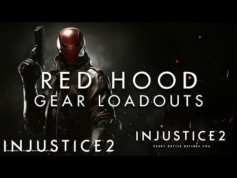Injustice 2 - Red Hood - Gear Loadouts (50+ Pictures)