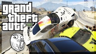 GTA 5 Online - THE FUNNIEST LONG HAUL EVER! w/The Crew