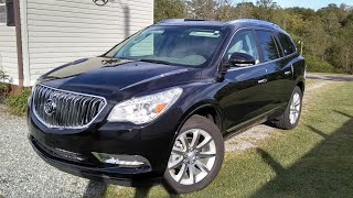 2017/2018 Buick Enclave Limited Premium AWD - Start Up, Road Test & Full Review