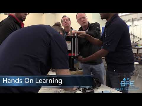 Burt Process Equipment ARO Piston Pump Training