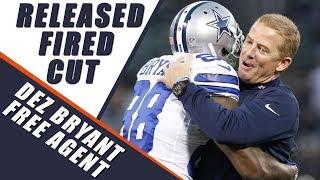 Dez Bryant Cut by the Dallas Cowboys