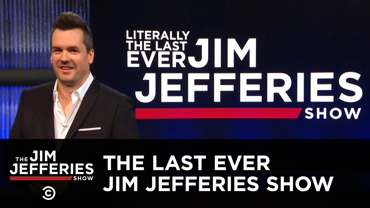 Literally The Last Ever Jim Jefferies Show