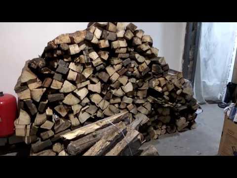 На сколько хватит куба дров
