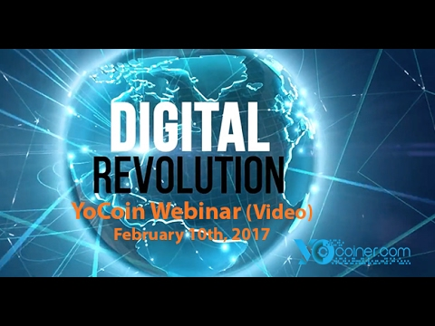 YoCoin Webinar 2017-02-10: Exciting News on Back Office, Pmt Processing, Legal, and Oth.Issues
