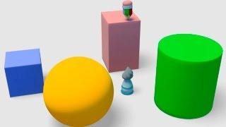 Развивающие Мультики - плоские и объемные геометрические фигуры для детей(Развивающее видео для детей проплоские и объемные геометрические фигуры. Забавный карандашик и кисточка..., 2013-05-30T17:20:24.000Z)