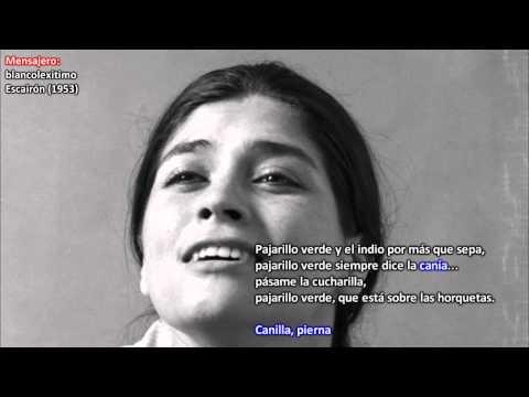 Soledad Bravo ► Pajarillo verde