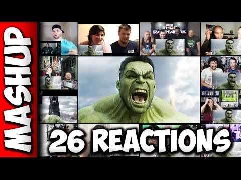 THOR: Ragnarok Official Trailer Reactions Mashup