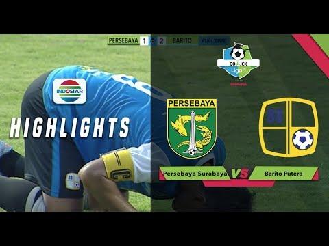 PERSEBAYA SURABAYA (1) vs BARITO PUTERA (2) - Full Highlight | Go-Jek Liga 1 bersama Bukalapak
