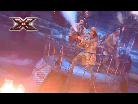 Группа Yurcash – Капитан Дирижабля – Х-Фактор 8. Седьмой прямой эфир. ФИНАЛ