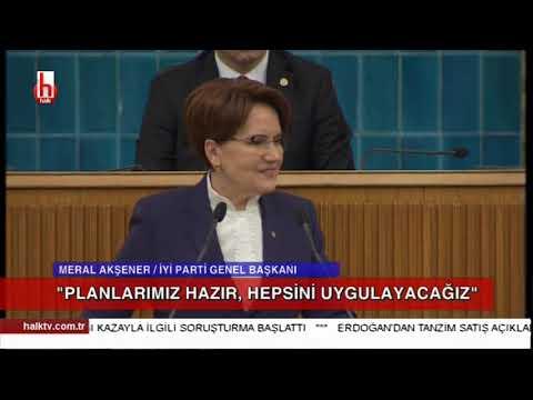 İYİ Parti Grup toplantısı / Meral Akşener Damat Berat Albayrak'ı topa tuttu