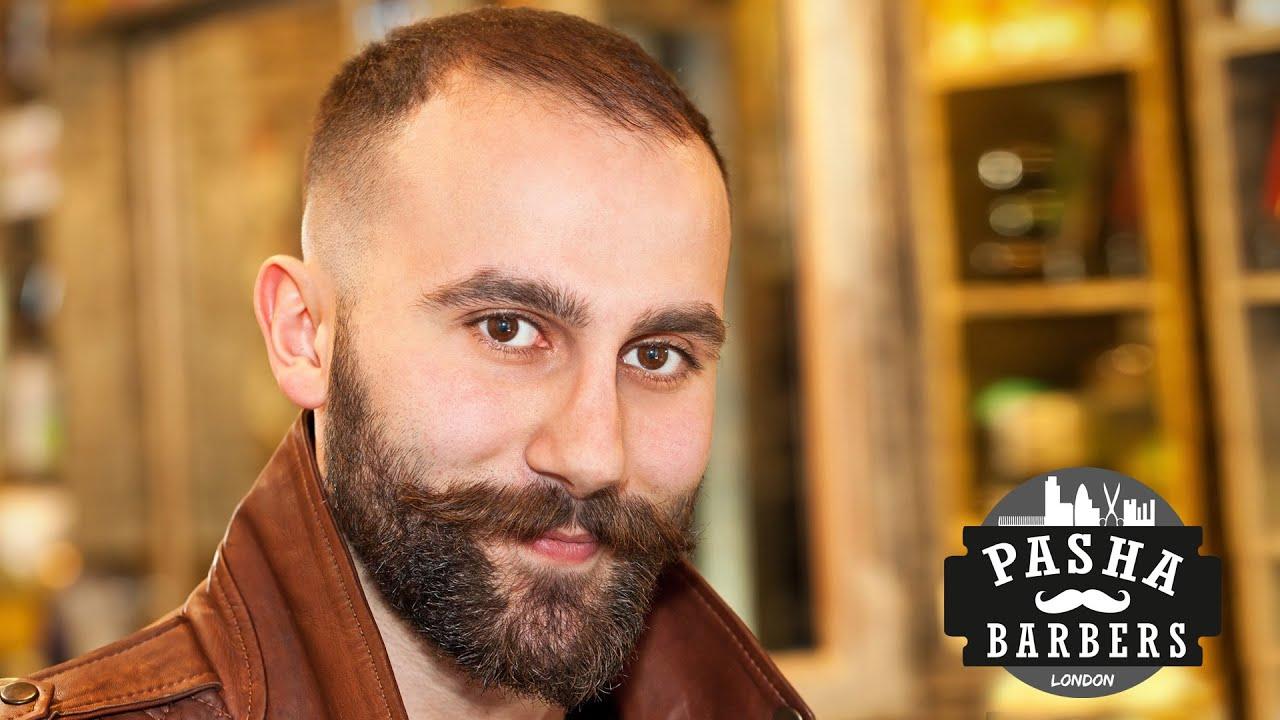 Pasha Barbers London Beard Styling and Grooming  YouTube