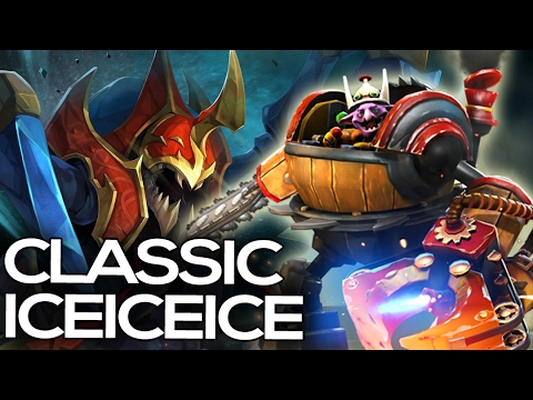 Classic iceiceice Play = instant gg + Nice Timbersaw Rampage Dota 2