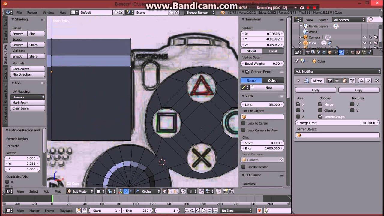 modeling ps4 controller timelapse youtube