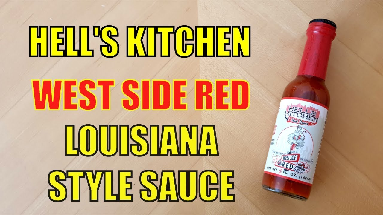 Hell's Kitchen West Side Red Hot Sauce