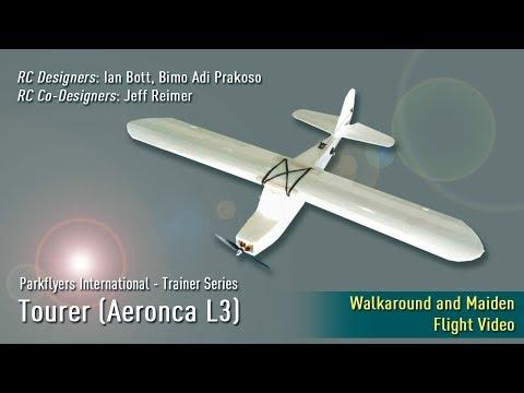 Parkflyers International - Tourer (Aeronca) 4 Channel RC Trainer