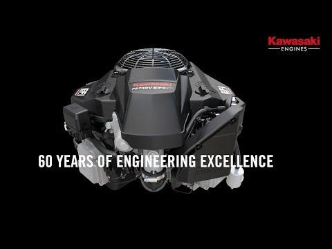 Take a ride through 60 years of Kawasaki engine development
