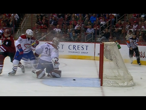 Puck trickles past Price for late Coyotes goal