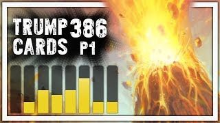 Hearthstone: Trump Cards - 386 - Part 1: TRIPLE VOLCANO CRAZINESS