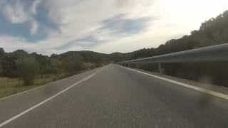 De paseo por la sierra con la KTM 1190