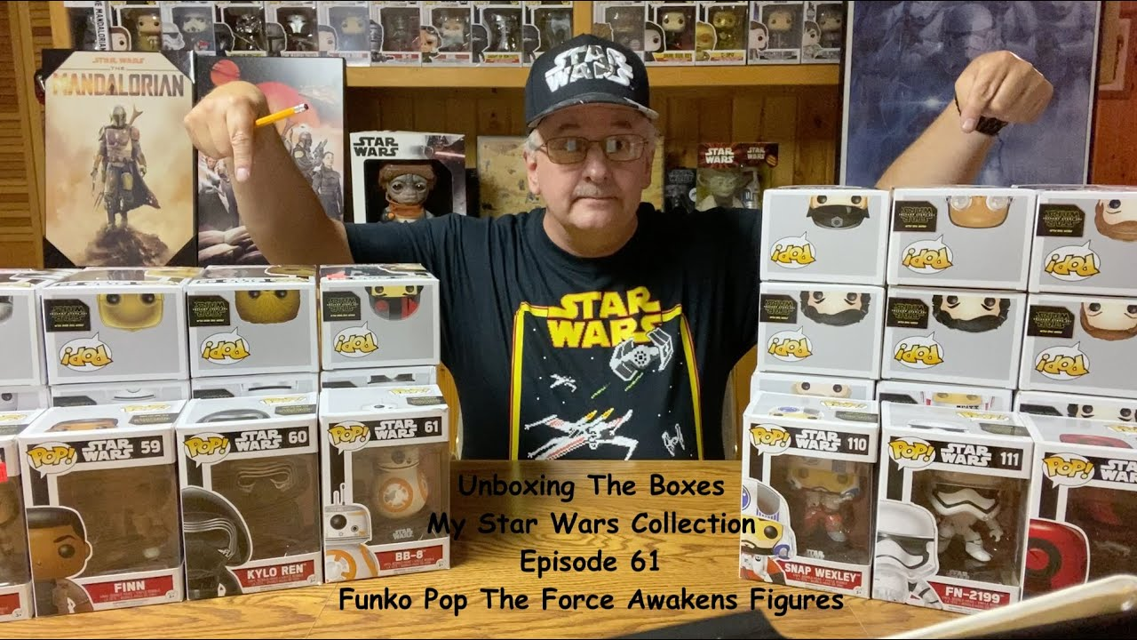 Unboxing The Boxes, The Star Wars Collection. Funko Pop The Force Awakens Figures.