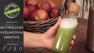 Metabolizma Hızlandıran Çaylı Smoothie | Dilara Koçak | Afiyetle Diyet