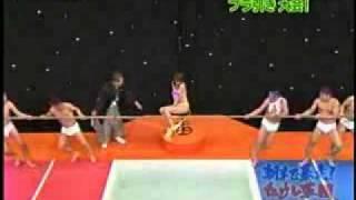 Японское шоу-в бассейне кипяток