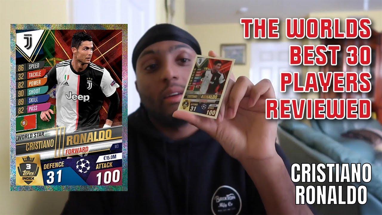 Match Attax 101 - The Worlds Top 30 Players Reviewed!! Featuring Messi, Ronaldo & Van Dijk!