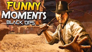Pokemon & Indiana Jones Maps! - Black Ops 3 Zombies Funny Moments (BO3)